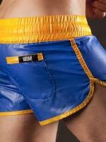 Barcode Berlin Shinie Short Boxer Blue-Yellow