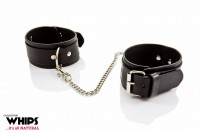 Whips Leather Ankle Cuffs for Him