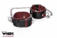Whips Leather Handcuffs for Her