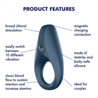 Satisfyer Vibrating Cock Ring 1