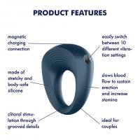 Vibrační erekční kroužek Satisfyer Rings 2