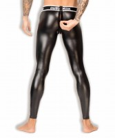 Legíny Outtox LG142-90 Zippered-Rear Leggings černé