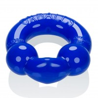 Oxballs Ultraballs Cock Rings Black and Police Blue