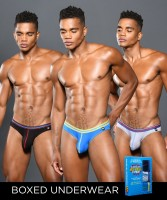 Andrew Christian 92029 Boy Brief Superhero Almost Naked 3-Pack