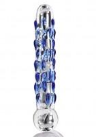 ToyJoy Glass Worxx Diamond Dazzler Dildo
