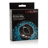 Silikonový erekční kroužek CalExotics Tri-Snap Erection Ring