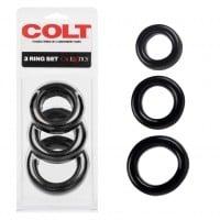 Erekční kroužky COLT 3 Ring Set