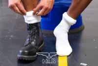 Mister B Football Socks White