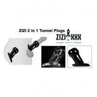 Zizi Anal Tunnel Plug XL Black