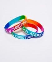 Dúhový náramok Andrew Christian Pride Rainbow