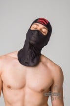 Maskulo AC071-10 Fetish Balaclava Red