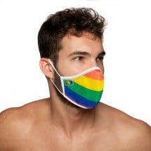 Rouška Addicted AC105 Rainbow Mask
