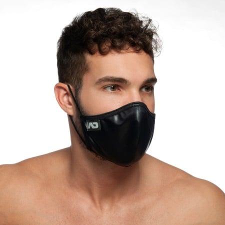 Rúško Addicted AC108 Shiny Mask čierne
