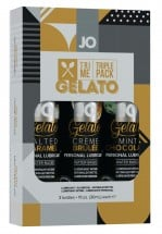System JO Gelato Tri-Me Lube Pack 3 x 30 ml