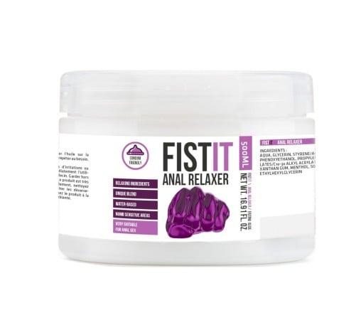 Lubrikačný gél Fist-It Anal Relaxer 500 ml