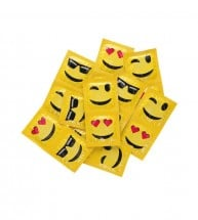Kondóm EXS Dotted Emoji 2 ks