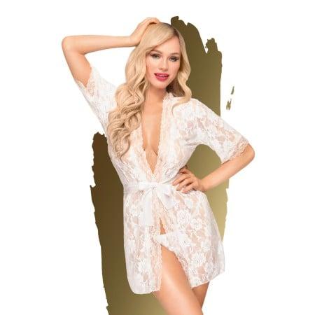 Set erotického prádla Penthouse Sweet Retreat bílý