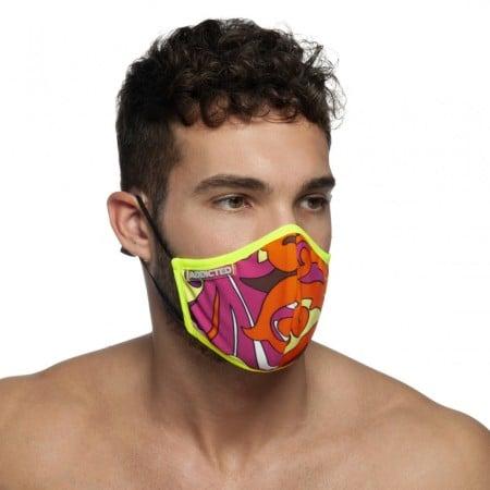 Rúško Addicted AC093 Flames Mask