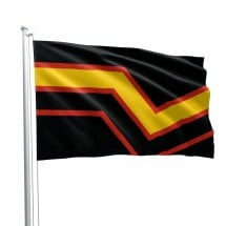 Vlajka Rubber Pride Fetish Flag
