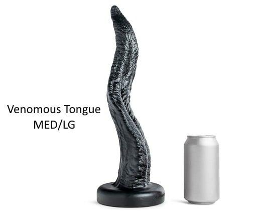 Dildo Hankey's Toys Venomous Tongue M/L