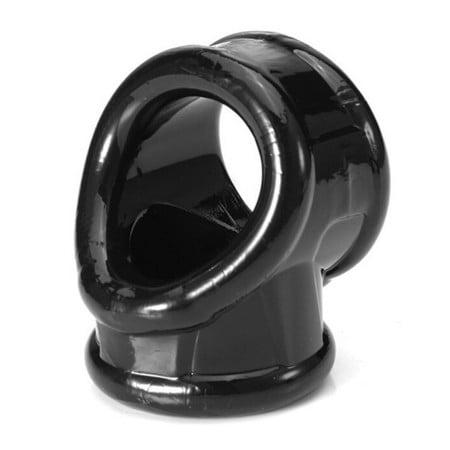 Erekční kroužek Slave4master Cocksling černý