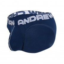 Andrew Christian 92052 Happy Brief Almost Naked Navy