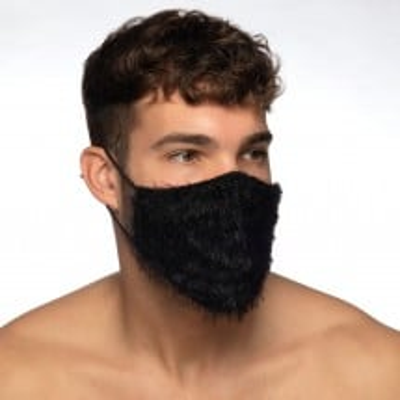Rouška Addicted AC131 Feather Face Mask černá