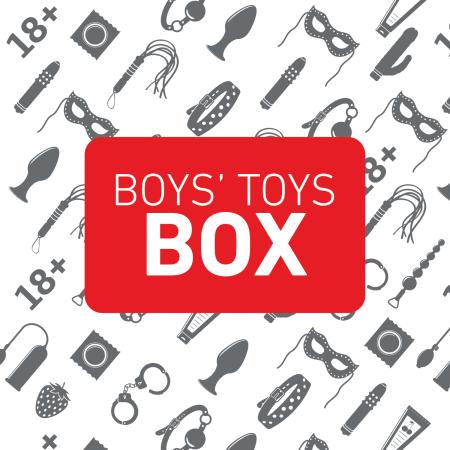 Sada hraček Boys' Toys Box