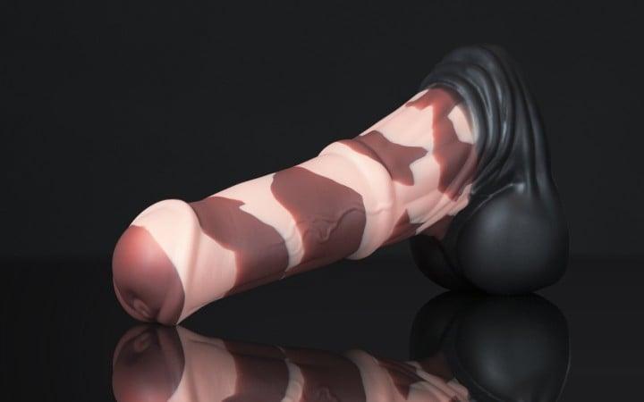 Konské dildo Weredog Jack Signature Chocolate extra veľké