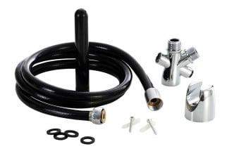 WaterClean Install Anal Douche with Installation Kit