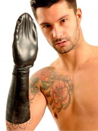 Bezprstá rukavice pod loket M&K Fisting Mitten