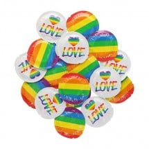 EXS Rainbow Pride and Love Condom 1 pc
