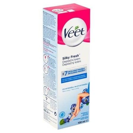 Depilační krém Veet Silky Fresh pro citlivou pokožku 100 ml